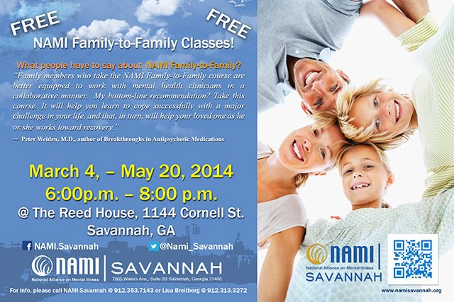 NAMI Family-to-Family Classes